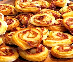 Cheese and Marmite Rolls 575